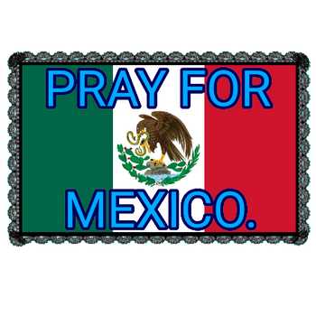 Pray For Mexico Stamp.