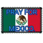 Pray For Mexico Stamp. by catdragon4