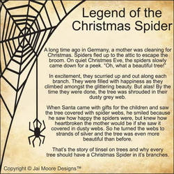 Legend Of The Christmas Spider.