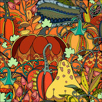 Autumn Harvest. by catdragon4