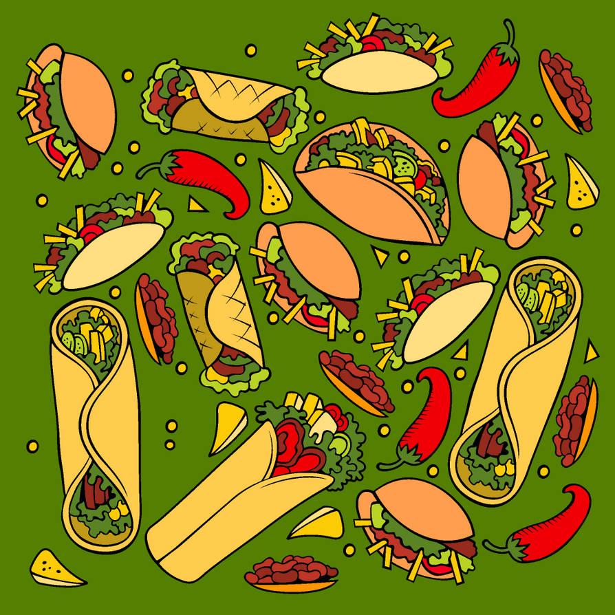 Taco Wallpaper. by catdragon4 on DeviantArt