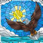 Flag Day Eagle.
