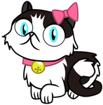 Bubbles The Cat By EmeraldBlast63.