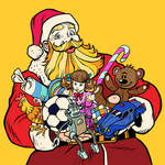A Jolly Old Saint Nicky. by catdragon4