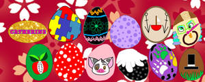 Easter Eggs 2020. by catdragon4