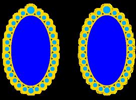 Sweet Melody's New Blue Earrings.