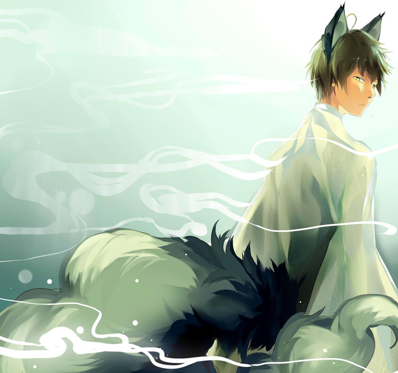 anime fox spirit wallpapers - photo #6