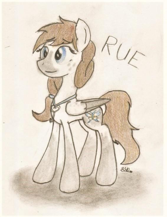 Rue (Brony Artist's OC) by BrogarArts