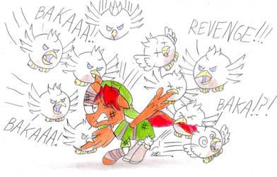 Attack of the Silver Cuccos by BrogarArts