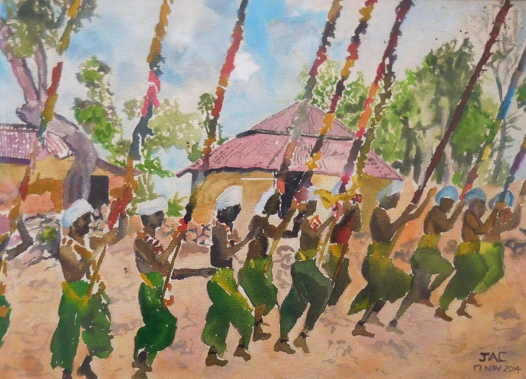 Tribal Dance by Aerton