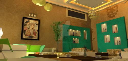 Vip Hall Coffe Design 3 by Farisalftasy