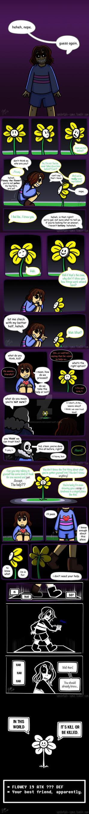 Sondertale: Chapter 1: Part 6 by Xedramon