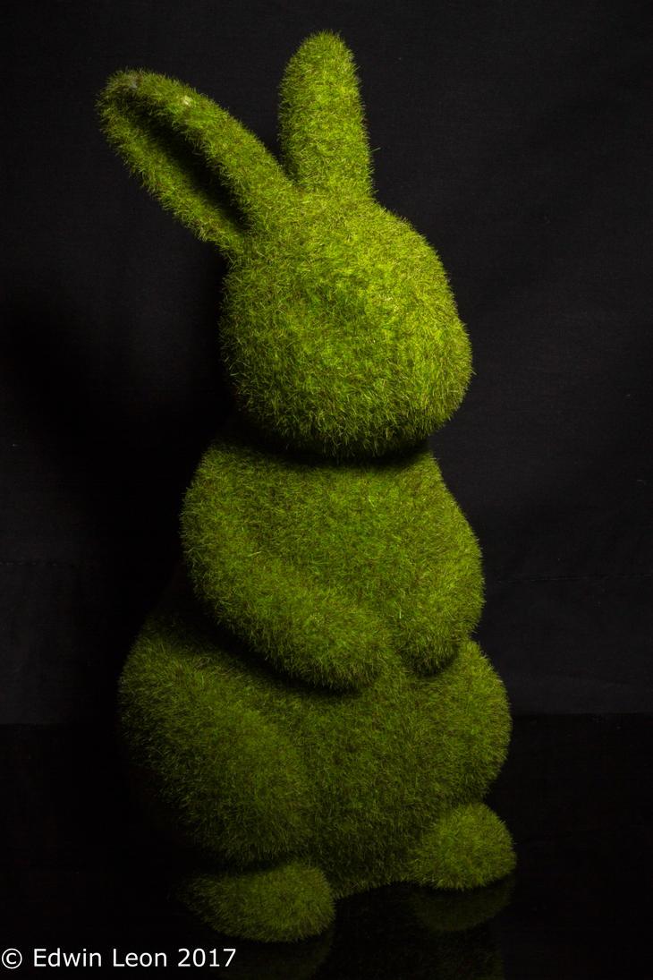 it's a bunny by lunarleon1