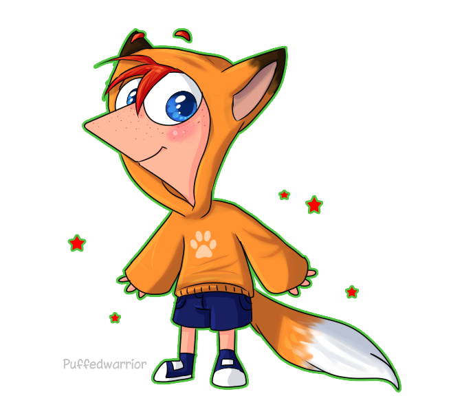tiny phin by Puffedwarrior