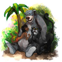 The bear necessities by Lhax
