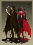 Hollow knight and BATIM