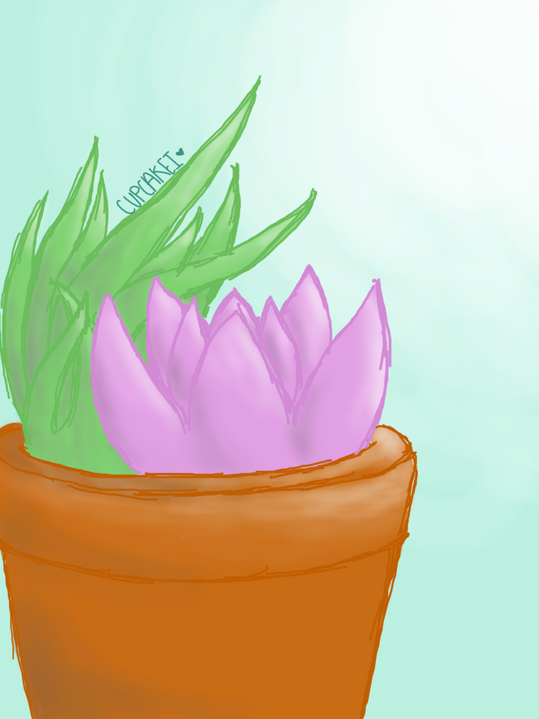 succulents? by Cupcakei