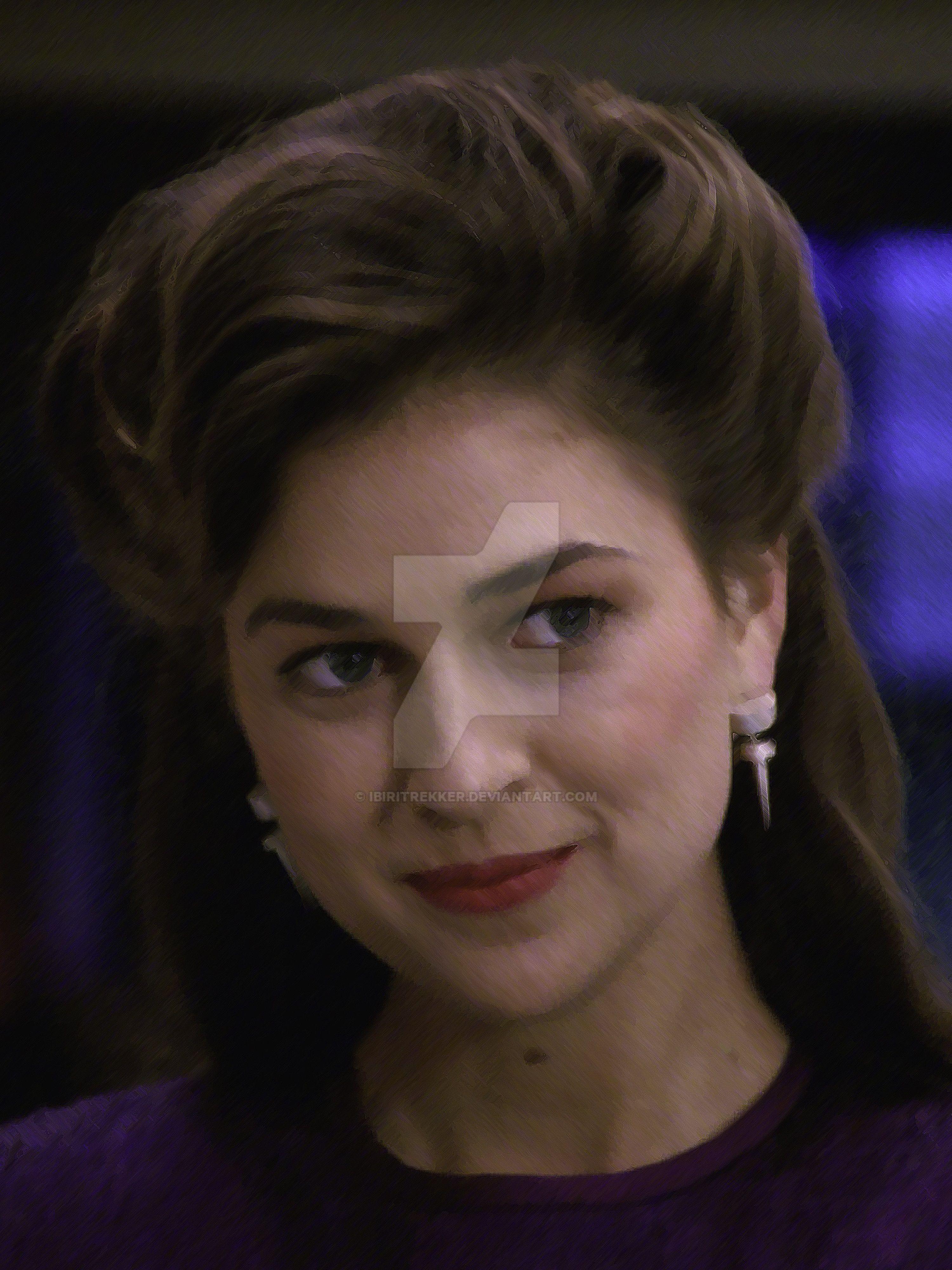 Star Trek TNG Leah Brahms by Ibiritrekker on DeviantArt