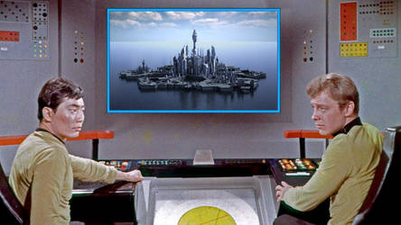 Star Trek - Stargate Atlantis City