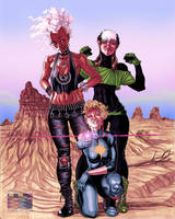 X-Women in the Australian Outback