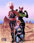 X-Women in the Australian Outback