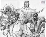 X-guys by RonAckins