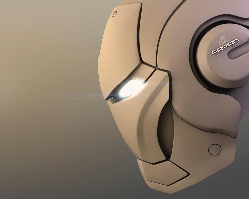 RENDER 3D - IRONMAN by falbertoc