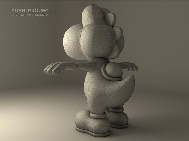 Yoshi Project 2 by falbertoc