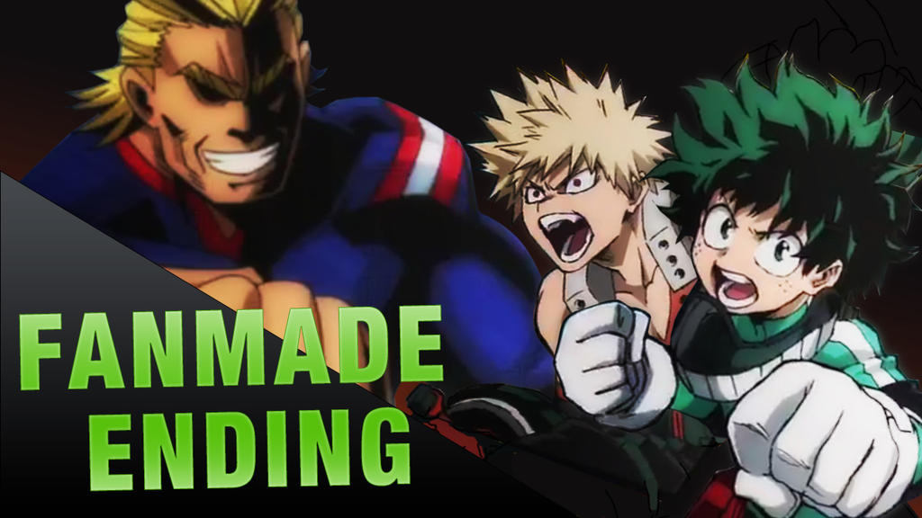 Boku no Hero Academia fanmade ending (VIDEO LINK) by DamianMAD