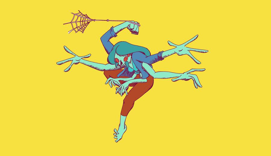Spider Girl by guynshades1980srock