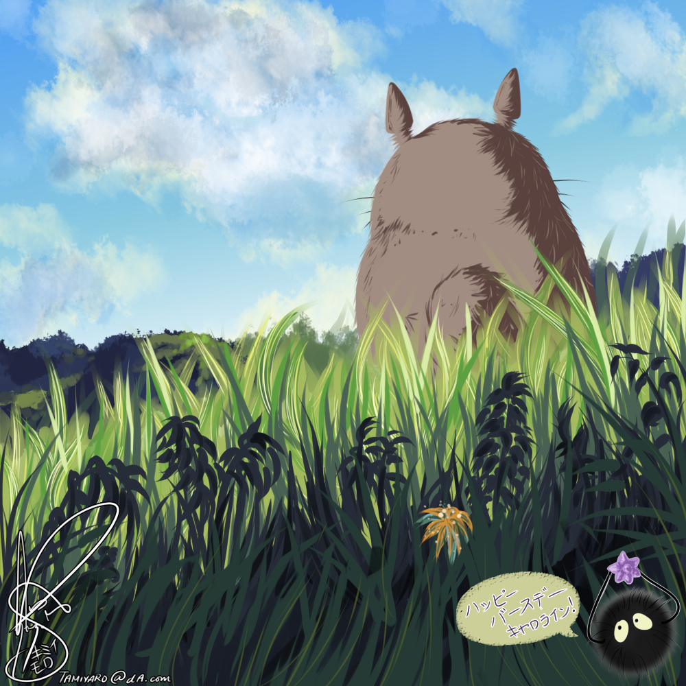 HBD: Studio Ghibili: My Neighbor Totoro by Risoru