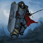 Iron Warriors. Siege captain Graft Marnak.