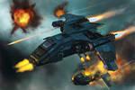 Fire Raptor Gunship