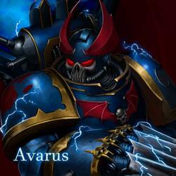 Avarus - Night Lords commission