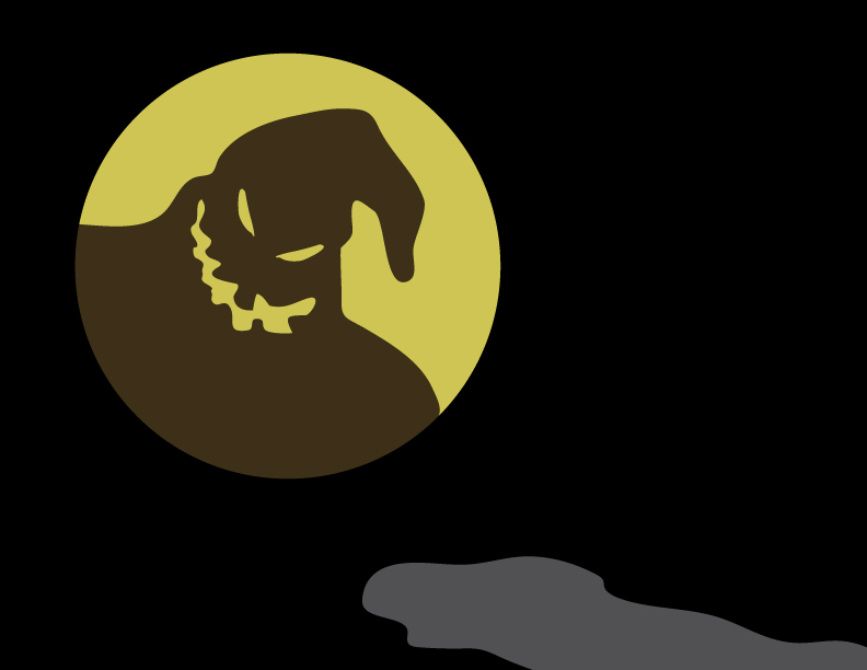 Oogie Boogie Moon by MalakaiByDesign on DeviantArt