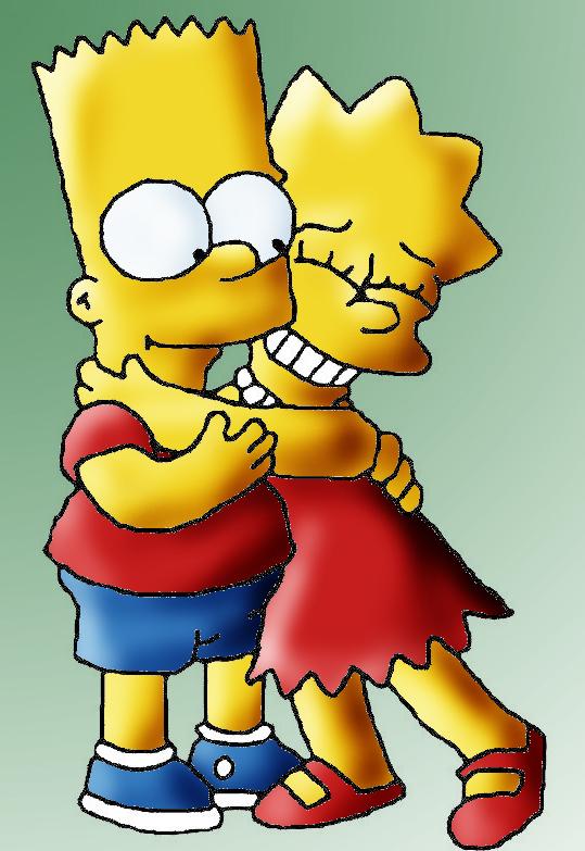 Lisa and Bart by meli-lulu