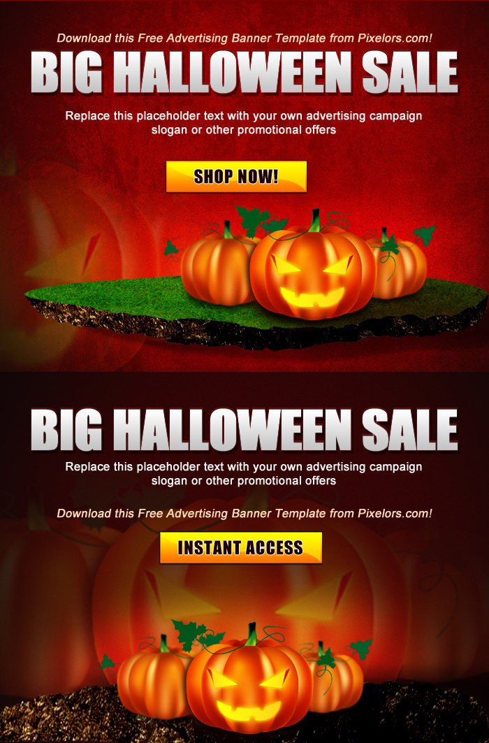 Free PSD Advertisement Poster - Halloween Template by ...
