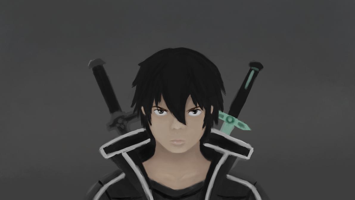 Black Swordsman by KiroKenji