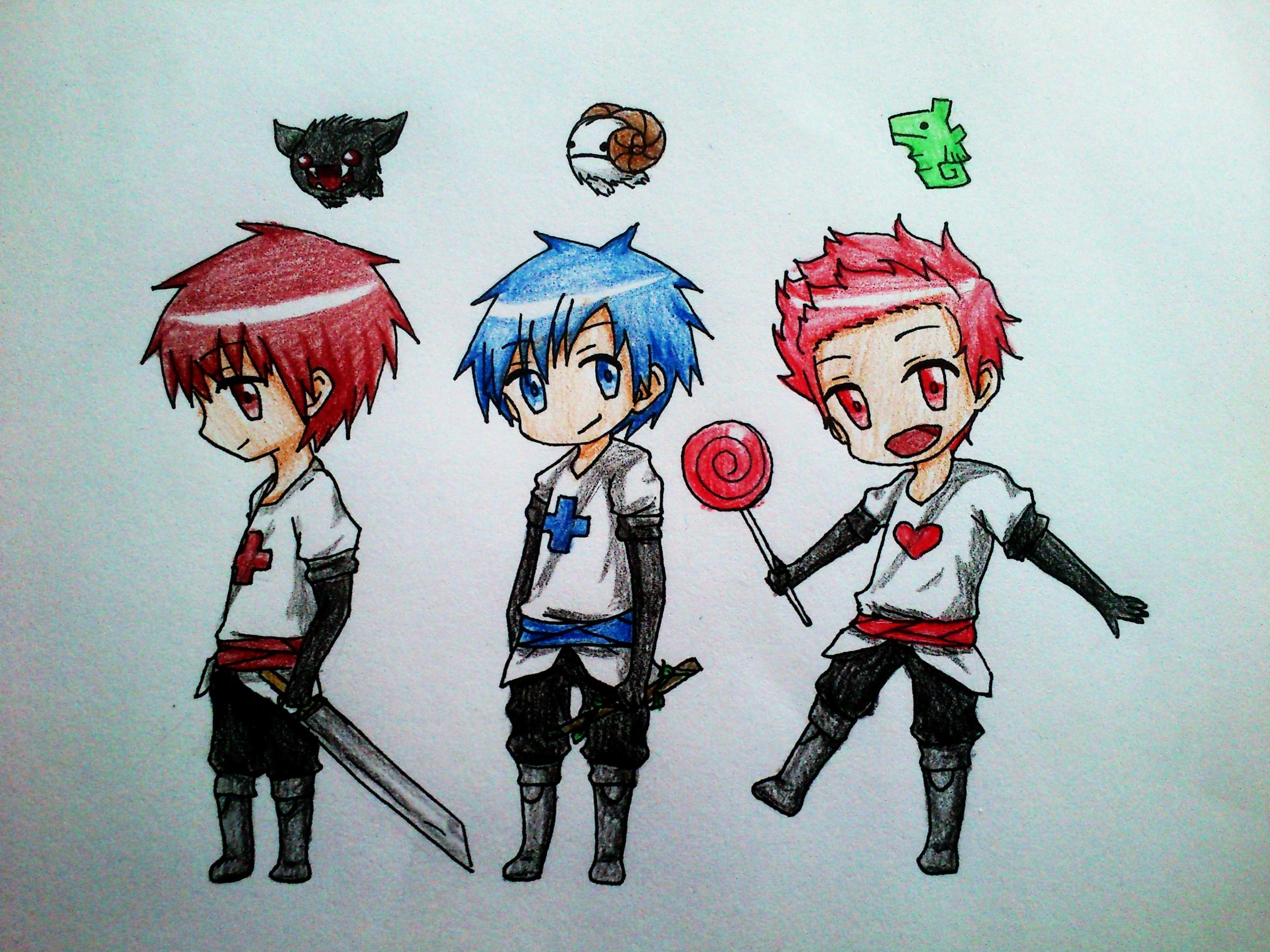 Castle crashers by freakydayo on deviantart - Castle crashers anime ...