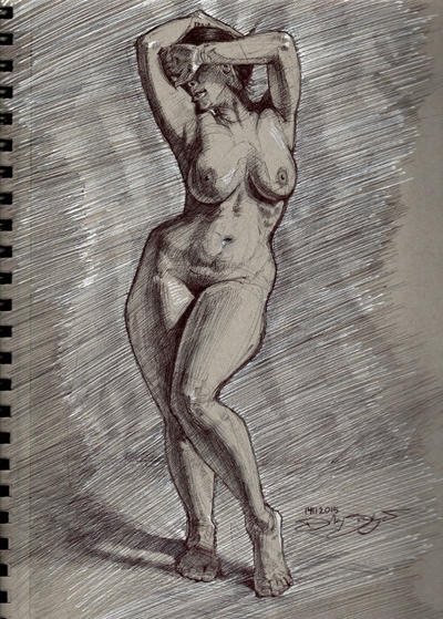 14112015 Nude Female by Svendsgaard