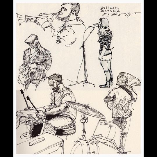 24112015 Sketch at Bimhuis Amsterdam by Svendsgaard