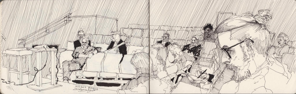 01122015 Sketch at Bimhuis Amsterdam by Svendsgaard