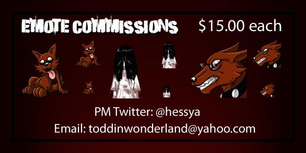 Emote Comission Add Vol 1 by Hessya