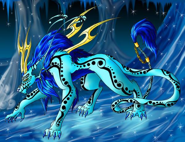 Ice Elemental by Lawlfox