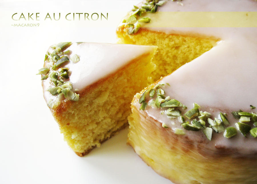 Cake au Citron by macaron9
