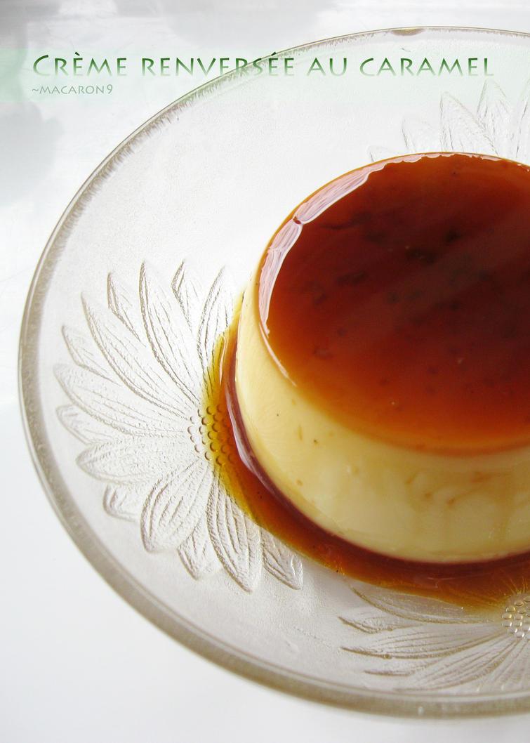 creme renversee au caramel by macaron9 on deviantart. Black Bedroom Furniture Sets. Home Design Ideas