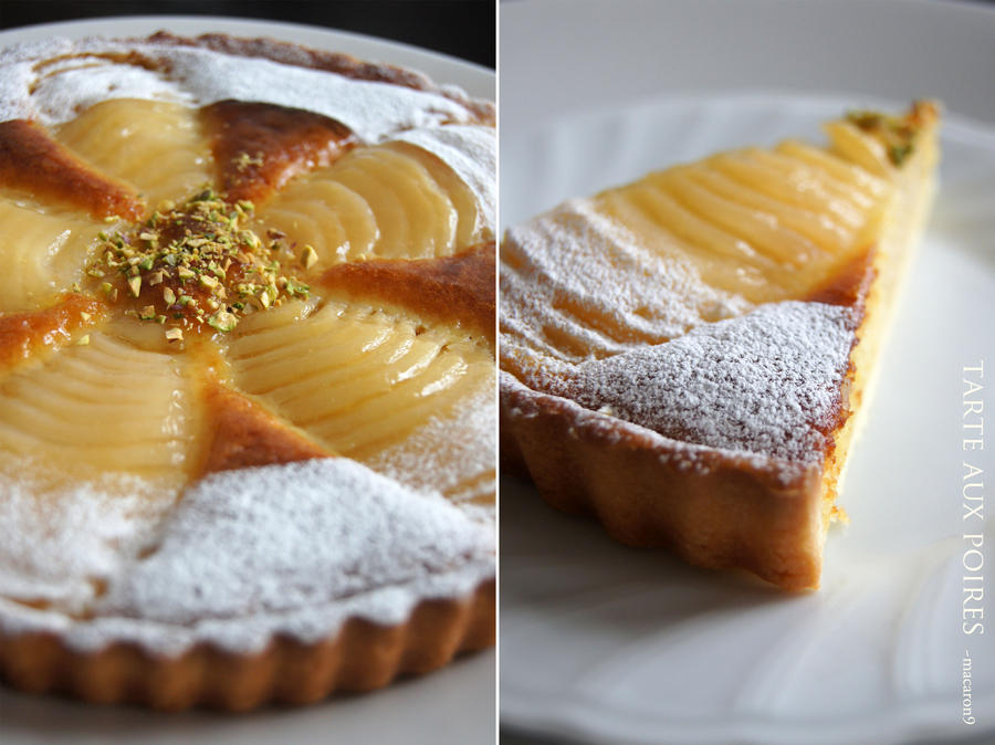 Tarte aux poires by macaron9