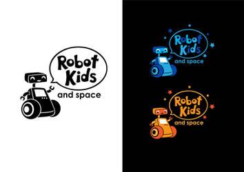 Robot Kids Logo by mayan-art