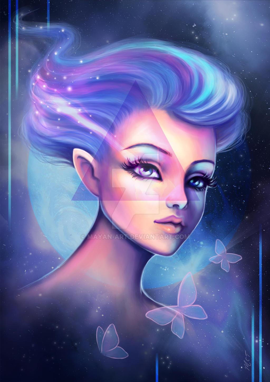 Moon Fairy by mayan-art