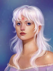 Lady Amalthea by mayan-art